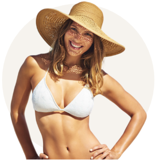 Breast augmentation model 01, Dr Charles Cope