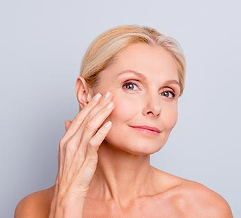 Anti wrinkle injections model 02, Dr Cope