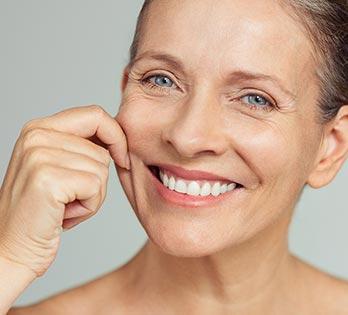 Medical grade skin care model 01, Dr Charles Cope